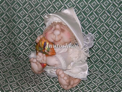 Вот такой малыш-ангелочек сна у меня получился.Это мой Сплюнчик))) фото 5