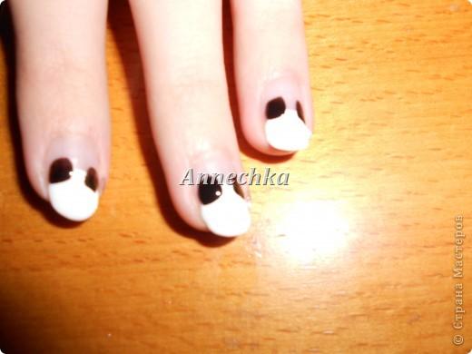 Пандочка на ногтях.  фото 5