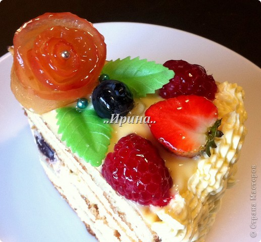 Торт с фруктами (РЕЦЕПТ) фото 2