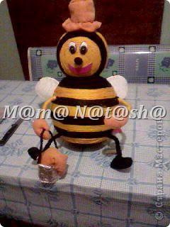 Делала пчелку в детский сад!