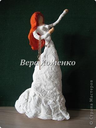 Внеклассная работа Мастер-класс Папье-маше Ватное папье-маше Бумага Вата Проволока фото 1