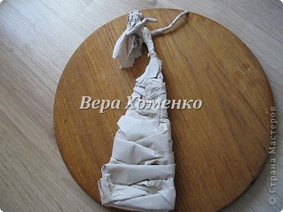 Внеклассная работа Мастер-класс Папье-маше Ватное папье-маше Бумага Вата Проволока фото 7