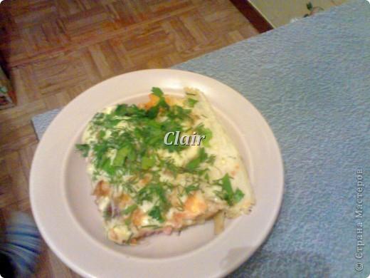 Очень вкусное и простое блюдо для всей семьи! Отлично подходит для праздников с большим количеством человек. Основная часть времени тратится на резку продуктов, поэтому вдвоём (втроём) готовится вдвое быстрее =) фото 1