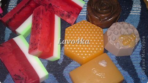 Арбузный скраб с семечками киви, кофейный скраб и медовое с молоком) фото 1