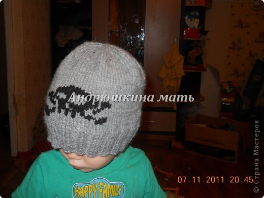 Шапка с черепом фото 4