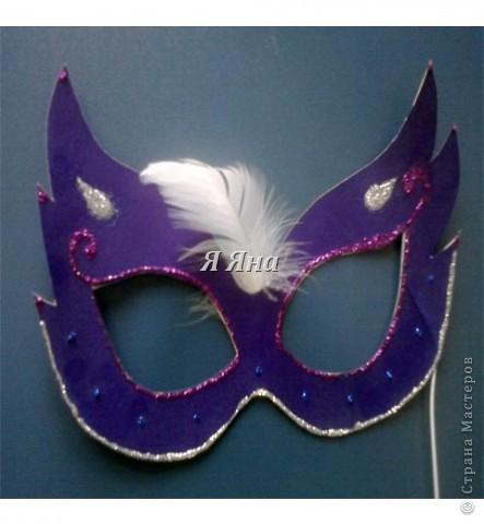 Я сделала маски для торжественных случаев.  фото 1
