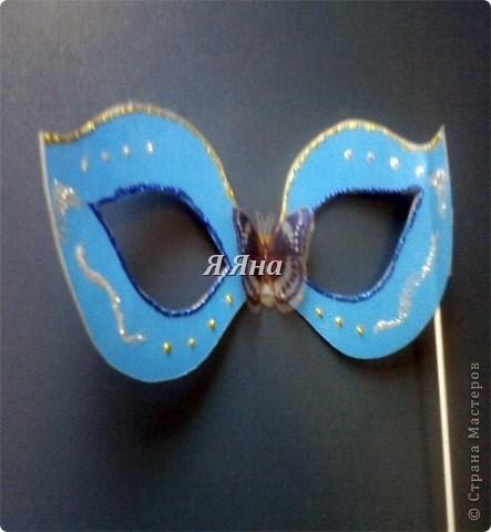Я сделала маски для торжественных случаев.  фото 2