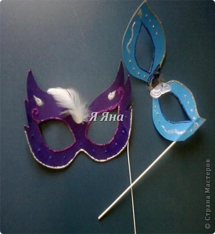 Я сделала маски для торжественных случаев.  фото 3