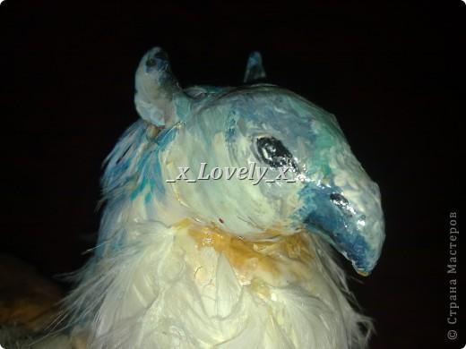 Это мой грифончик, он сделан аналогично драконам( моя прошлая запись)  фото 2