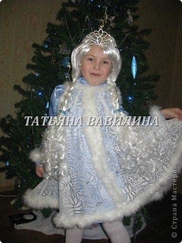 Может кому-нибудь пригодится наша идея по пошиву костюма снегурочки! фото 2