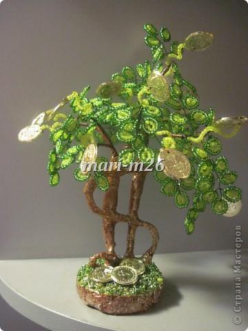 денежного дерева Бисер