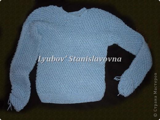 Пуловер женский.  фото 1