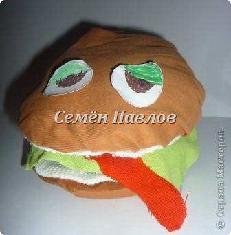 Маленький бутерброд, который любит чебуреки)) фото 4