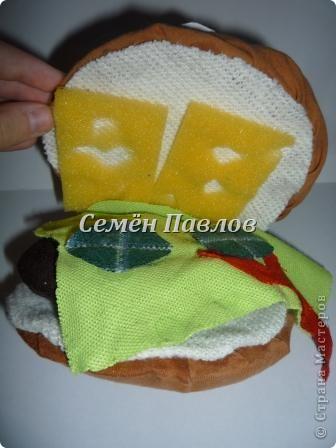Маленький бутерброд, который любит чебуреки)) фото 2