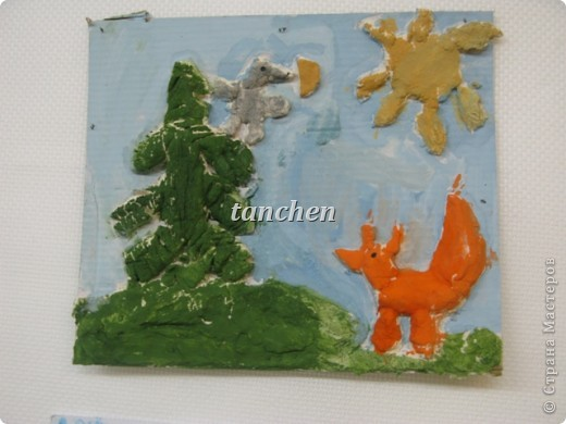 лепили и рисовали детки 6-7 лет фото 2