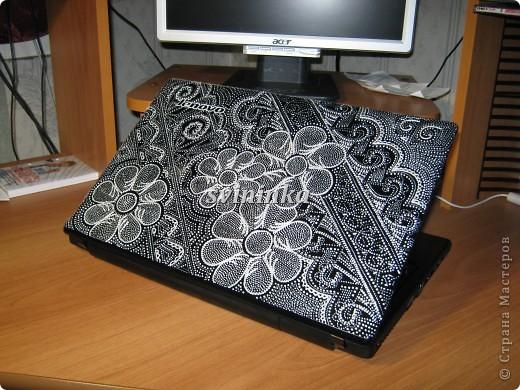 """Жил-был черный ноутбук, и давно я на него """"зуб точила""""чего он черный, обыкновенный, не интересный и тут я до него добралась!!!!! фото 2"""