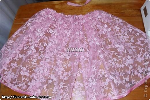 Сшить юбку нарядную для девочки