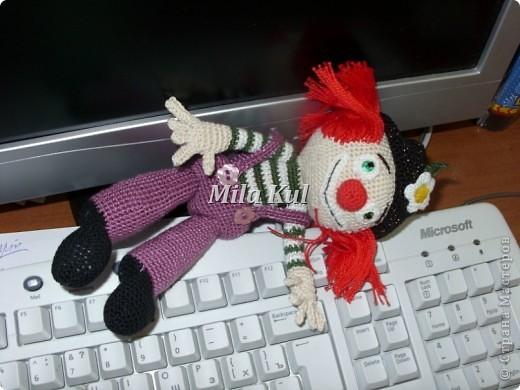 Лола. Кукла на подставке под заказ. Очень не хотела фотографироваться......я с ней намучилась! фото 4