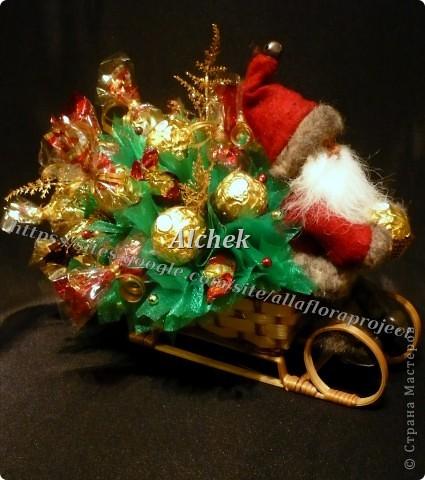 Саночки с Дедом морозом. Сладкие :) фото 1