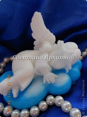 Ангел на облаке фото 1