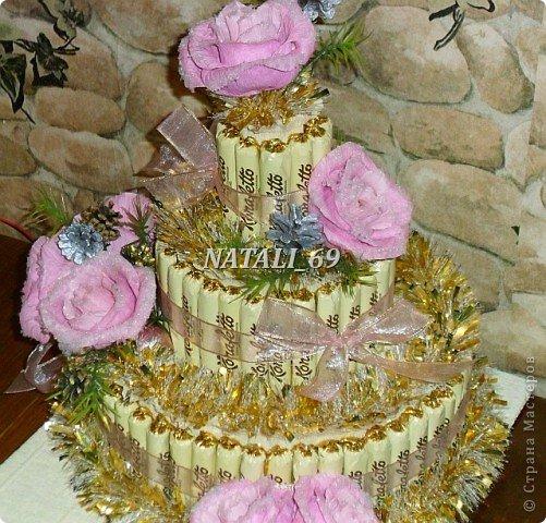 "Торт ""Розы в снегу"" фото 4"