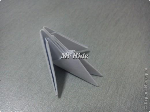 Мастер-класс Поделка изделие Оригами китайское модульное Пегас МК Бумага Клей фото 2