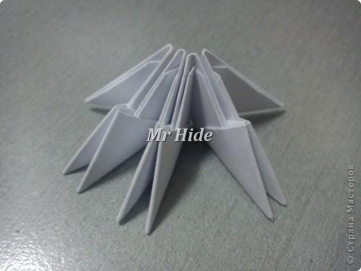 Мастер-класс Поделка изделие Оригами китайское модульное Пегас МК Бумага Клей фото 3