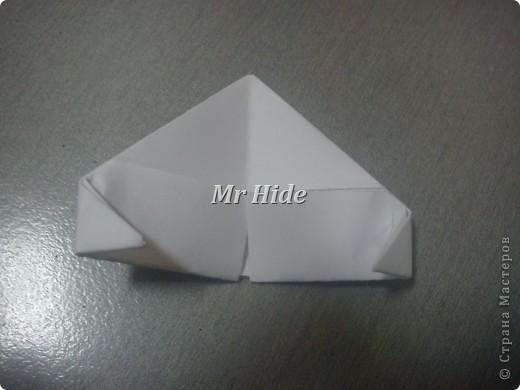 Мастер-класс Поделка изделие Оригами китайское модульное Пегас МК Бумага Клей фото 19