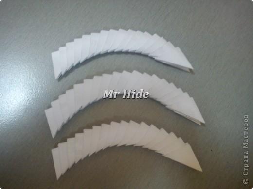 Мастер-класс Поделка изделие Оригами китайское модульное Пегас МК Бумага Клей фото 24