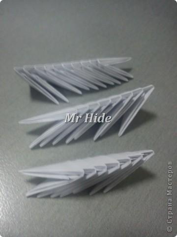 Мастер-класс Поделка изделие Оригами китайское модульное Пегас МК Бумага Клей фото 27