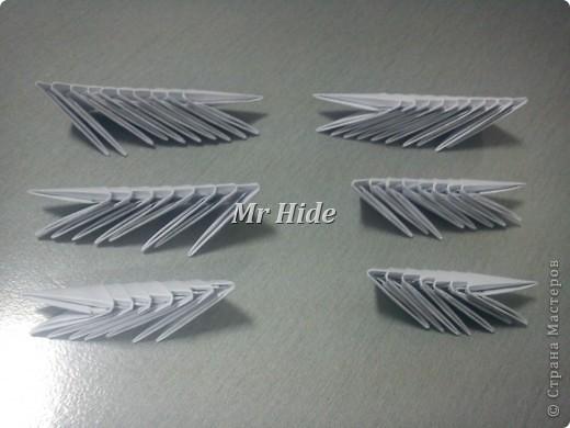 Мастер-класс Поделка изделие Оригами китайское модульное Пегас МК Бумага Клей фото 28