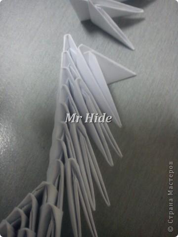 Мастер-класс Поделка изделие Оригами китайское модульное Пегас МК Бумага Клей фото 32