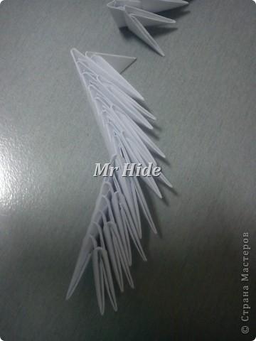 Мастер-класс Поделка изделие Оригами китайское модульное Пегас МК Бумага Клей фото 33