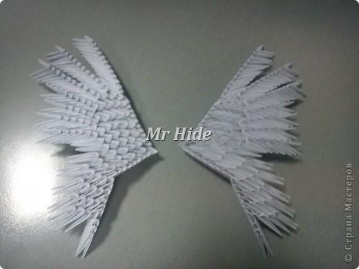 Мастер-класс Поделка изделие Оригами китайское модульное Пегас МК Бумага Клей фото 44