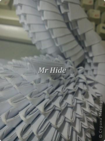 Мастер-класс Поделка изделие Оригами китайское модульное Пегас МК Бумага Клей фото 46