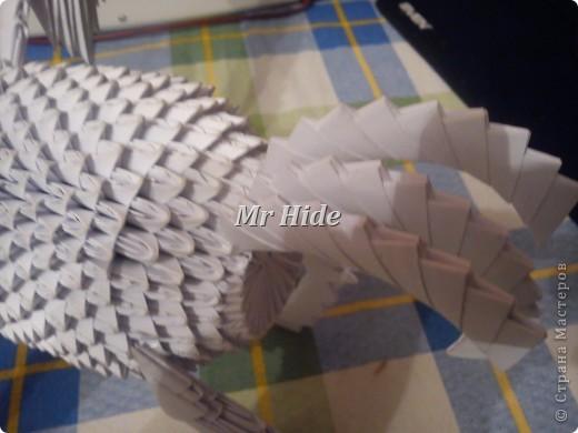 Мастер-класс Поделка изделие Оригами китайское модульное Пегас МК Бумага Клей фото 53