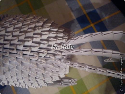 Мастер-класс Поделка изделие Оригами китайское модульное Пегас МК Бумага Клей фото 52