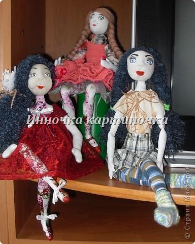 Этих кукол я делала на заказ одной очень приятной девушке.
