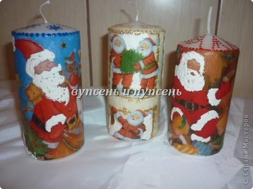 Новогоднее и свечи. фото 5