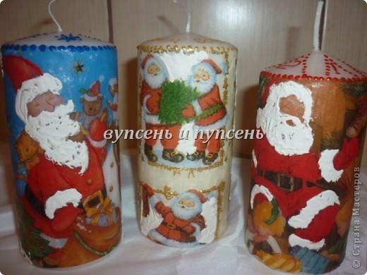 Новогоднее и свечи. фото 6
