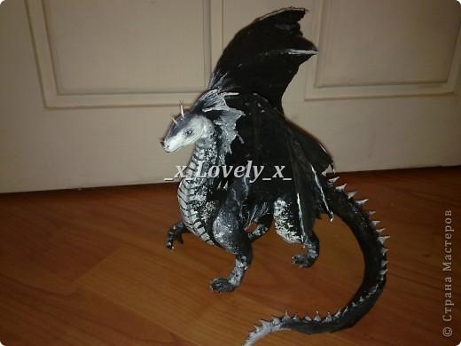 Чёрный дракон - Не определена.  Страна мастеров.  Автор.  Знаю, что поздно выложила, до праздника совсем...