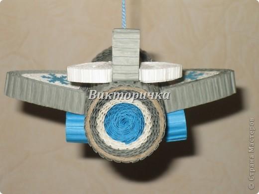 """Ёлочная игрушка """"вертолётик"""". Вид сбоку. фото 5"""