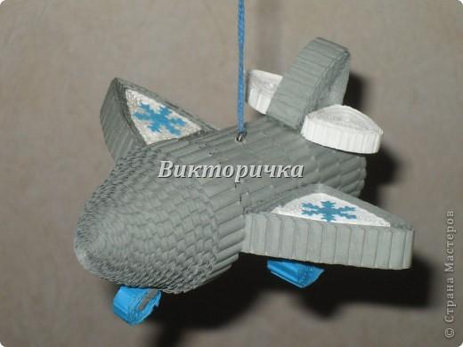 """Ёлочная игрушка """"вертолётик"""". Вид сбоку. фото 4"""