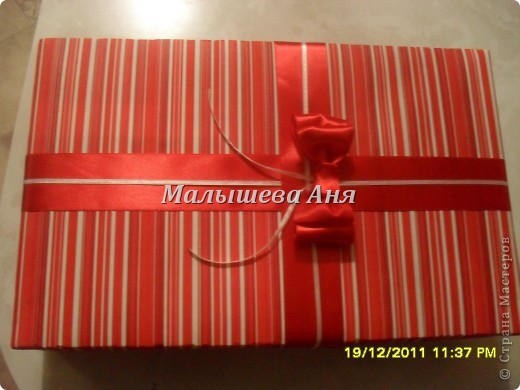 Мастер-класс Новый год Бумагопластика Как обернуть коробку Бумага фото 1