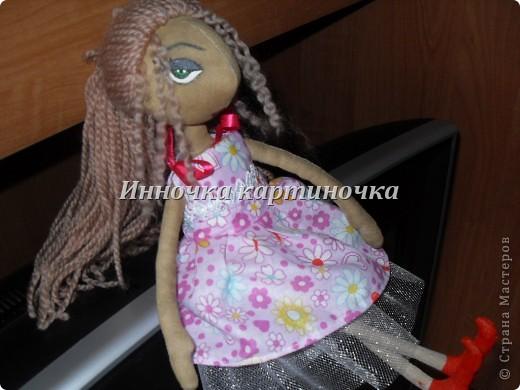 Эту куклу я сшила для себя. Это первая кукла из тыквоголовых, скоро на подходе втоорая. фото 5