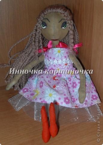 Эту куклу я сшила для себя. Это первая кукла из тыквоголовых, скоро на подходе втоорая.