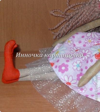 Эту куклу я сшила для себя. Это первая кукла из тыквоголовых, скоро на подходе втоорая. фото 2