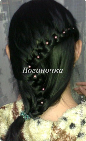Причёски, которые я плела сама себе фото 6
