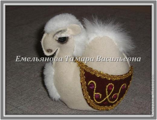 Мастер-класс Шитьё Сувенир «Верблюд» Ткань фото 1
