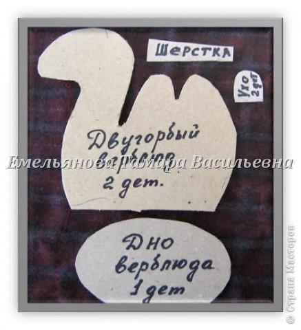 Мастер-класс Шитьё Сувенир «Верблюд» Ткань фото 4